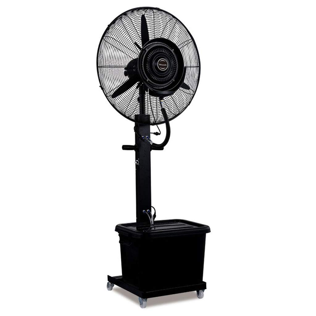 Oscillating Misting Fan 26''/30'' High Power Shopping Mall Spray Humidification and Cooling Stand Fan, Suitable for Industrial, Factory, Outdoor 110V/60Hz by ZRN-Fan