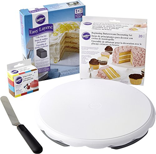 Wilton Easy Layers Cake Decorating Set, 30-Piece
