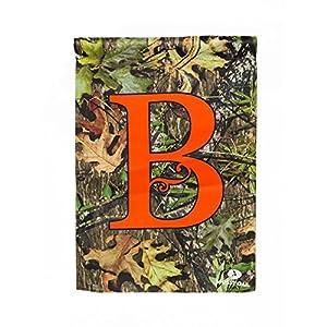 High Quality Monogram Garden Flag Letter: B