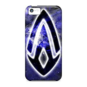 DateniasNecapeer Design High Quality Space Logo Covers Cases With Excellent Style For Iphone 5c
