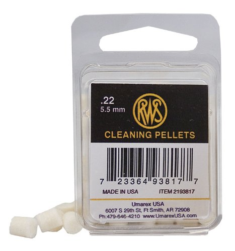 - RWS .22 Quick Cleaning Pellets, 80ct