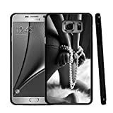electronic 50 shades of grey - Note 5 Case For Samsung, Customized Black Soft Rubber Samsung Galaxy Note 5 Case Fifty Shades of Grey-The white Mattress