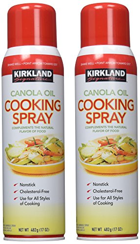 kirkland signature canola oil cooking spray 2 count buy online in uae grocery products in. Black Bedroom Furniture Sets. Home Design Ideas
