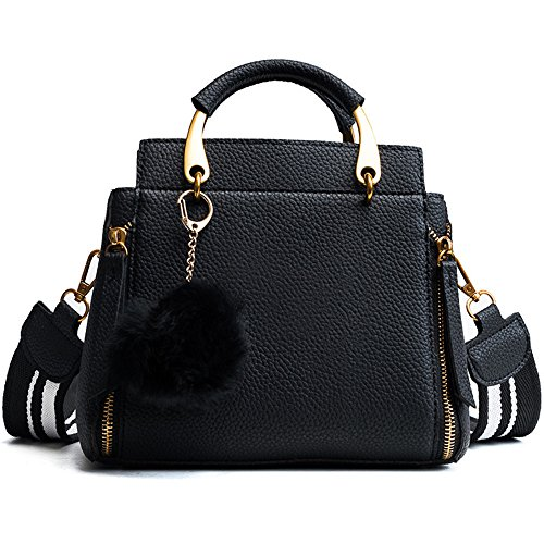 Women Bag Meaeo Color Black Bag Bag Crossbody Contrast New Black wYxOnABxq