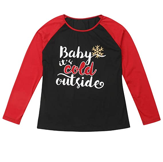 Matching Christmas Shirts For Family.Amazon Com Family Matching Christmas Clothes Long Sleeve