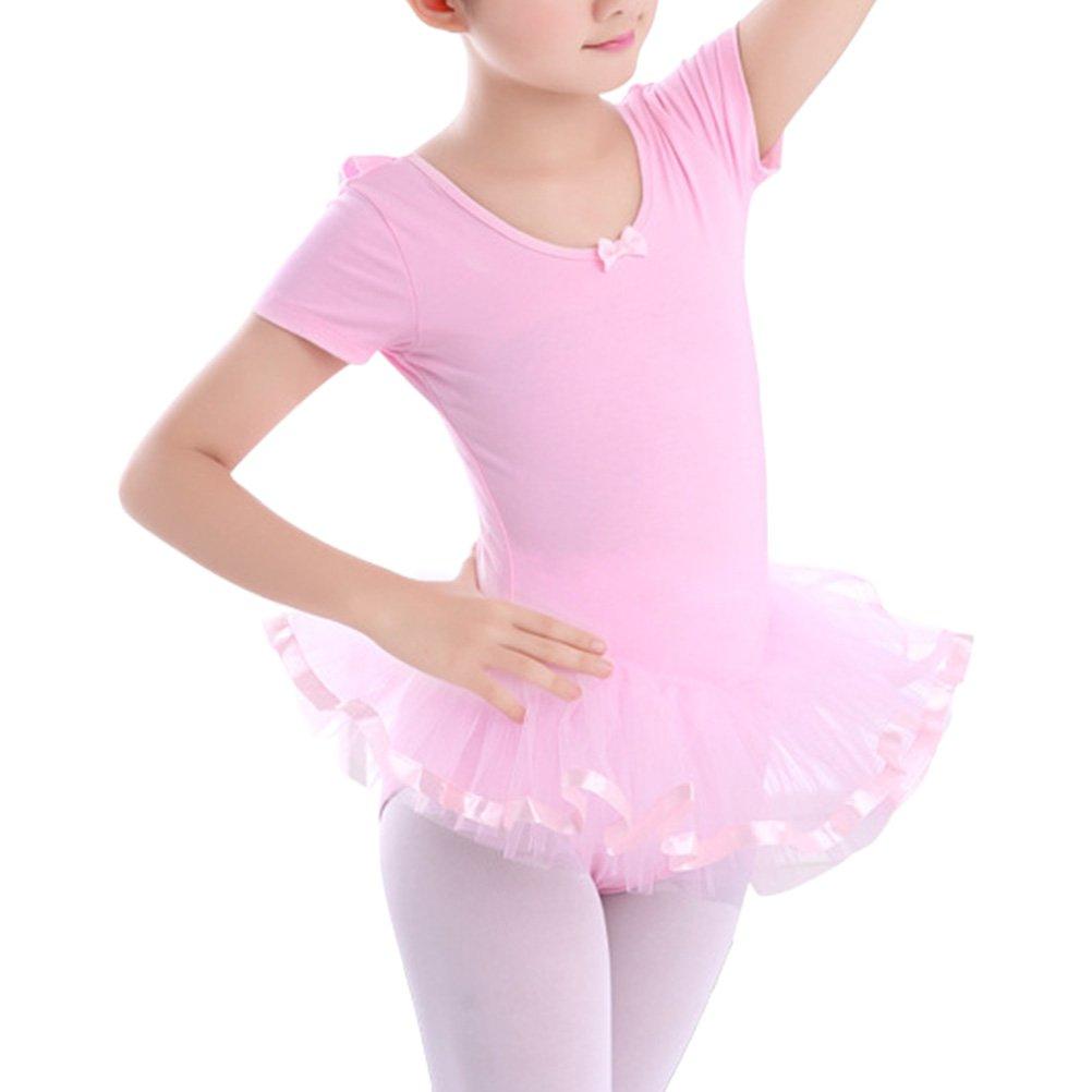 e98466d0eddf Zhuhaitf Girls Kids Gymnastics Dance Dress Ballettkleid Tutu Leotard ...