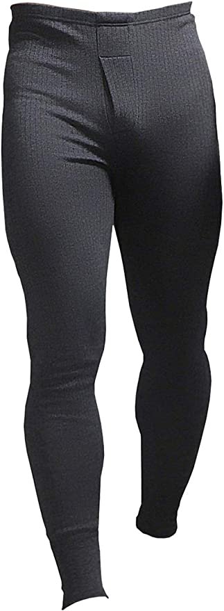 Mens Long Johns Thermals Underwear Bottoms Tog 0.45 Charcoal