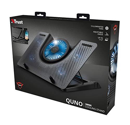 Base Suporte de Refrigeração para Laptop Cooling Stand Quno GXT 1125 - T23581 - Trust