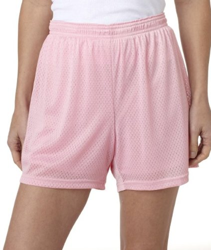 Champion Women's Active Mesh Short, 2XL-Black