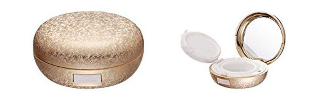 15g 15ml riutilizzabile lusso vuoto cuscino d' aria in barattolo, 14,2gram make-up polvere Puff scatola di cosmetici contenitore con cuscino d' aria spugna cipria e specchio per DIY BB/CC crema fondotinta liquido (Glod)