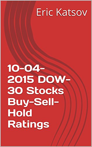 10-04-2015  DOW-30 Stocks Buy-Sell-Hold Ratings (Buy-Sell-Hold+stocks iPhone app)