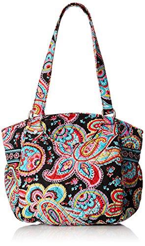 Vera Bradley Glenna Shoulder Bag Parisian Paisley One Size