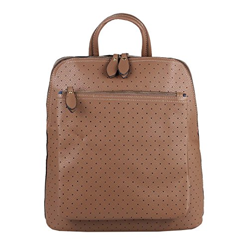 OBC Only-Beautiful-Couture - Bolso mochila para mujer Marrón marrón ca.: 32x36x12 cm (BxHxT)
