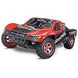 Traxxas Nitro Slash: 2WD Short Course Racing Truck with TQi 2.4 GHz Radio & TSM (1/10 Scale), Black