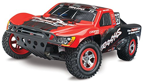 Traxxas Nitro Slash: 2WD Short Course Racing Truck with TQi 2.4 GHz Radio & TSM (1/10 Scale), Black (Traxxas Nitro Rc)