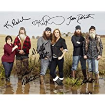 Duck Dynasty cast reprint signed family photo #2 Willie Si Jase Phil Robertson RP