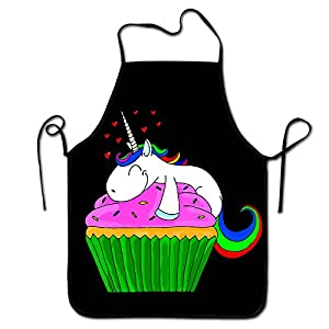 Result Love Unicorn Cupcake Chef Kitchen Cooking And Baking Bib Apron