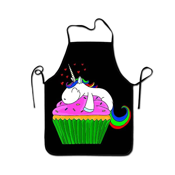 Result Love Unicorn Cupcake Chef Kitchen Cooking And Baking Bib Apron