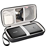 BOVKE Protective Carrying Case for Anker PowerCore+ 26800mAh / Jackery Titan 20100 mAh Portable Charger External Battery Power Bank Wall Charger and Car Charger, Black