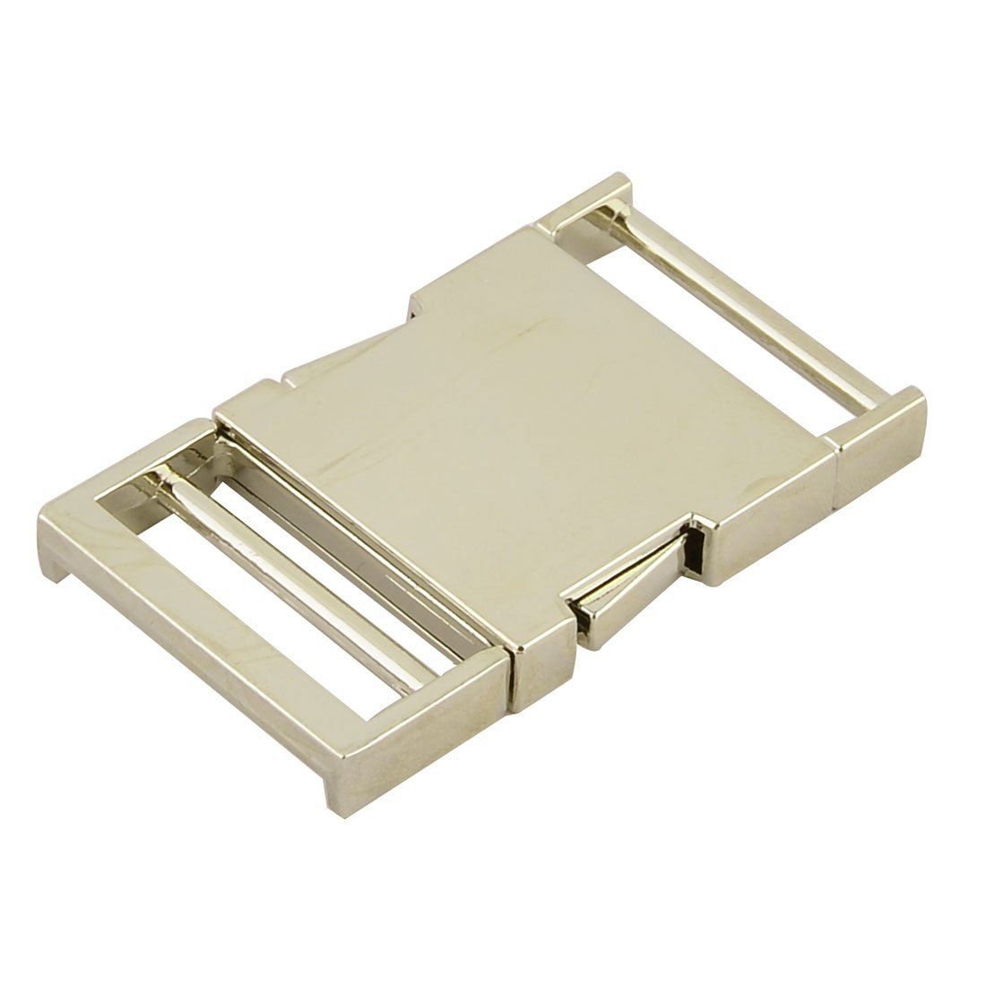 EbuyChX Metal Flat Belt strap Bag Side Quick Release mabaluktot 1.5 Inside Lapad Gold Tone