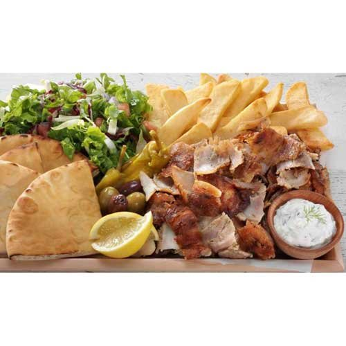 Grecian Delight Old World Traditional Chicken Gyro Cone, 20 Pound -- 1 each.