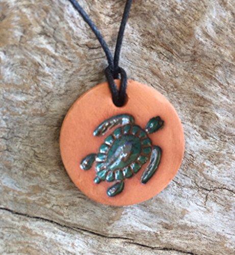 Turtle Diffuser Necklace | Essential Oil Diffuser Necklace | Turtle Clay Diffuser Necklace | Aromatherapy Jewelry | Essential Oil Accessory ()