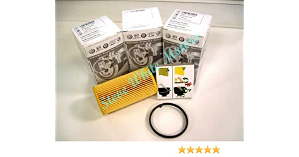 Mann Oil Filter Element Metal Free For Audi A5 3.2 FSI quattro 3.2 FSI