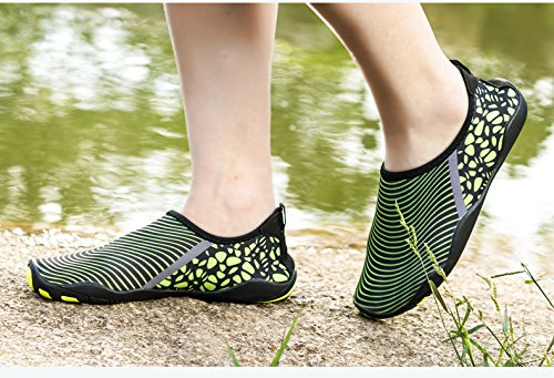 Shoes Green Shoes Women Water Water Dry AVADAR Swim Park Men Walking Shoes Yoga 5 Quick 5 Beach Driving Boating Lake Aqua UK For Barefoot Garden 5XxwxSqtC