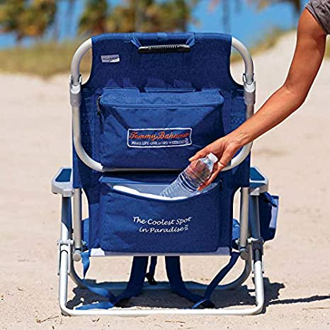 Tommy Bahama Backpack Chair Insulated Cooler Pouch 5 Positions