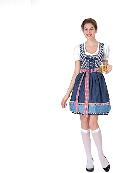 Leoie - Disfraz de bávaro para Mujer de bávaro, Disfraz Tradicional ...