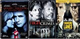 Thriller Lanes DVD High Crimes Morgan Freeman + Changing Lanes Ben Affleck Samuel Jackson & Memory Keepers Daughter Triple Feature Movie Pack