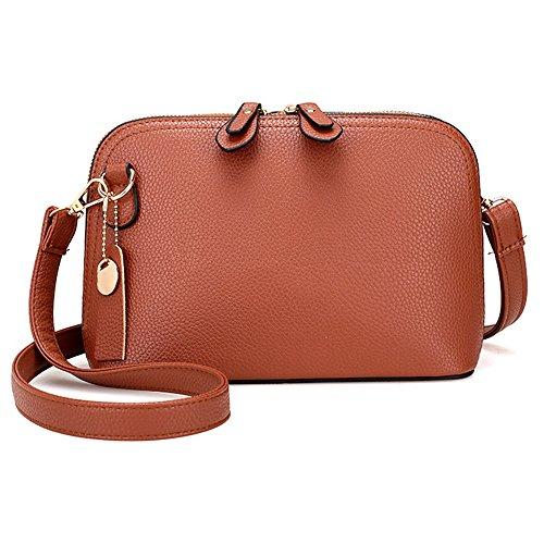 Neartime Hot Sale!Clearance! Women Bag, 2018 Single Shoulder Bag Pure Color Messenger Bags Cute Flap Satchels (❤️24×18×10cm, - Pocket Under Flap