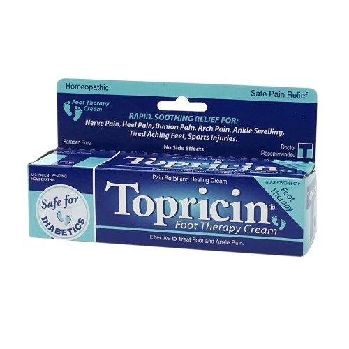 TOPRICIN FOOT THERAPY CREAM 2 OZ, 2 (Topricin Foot)