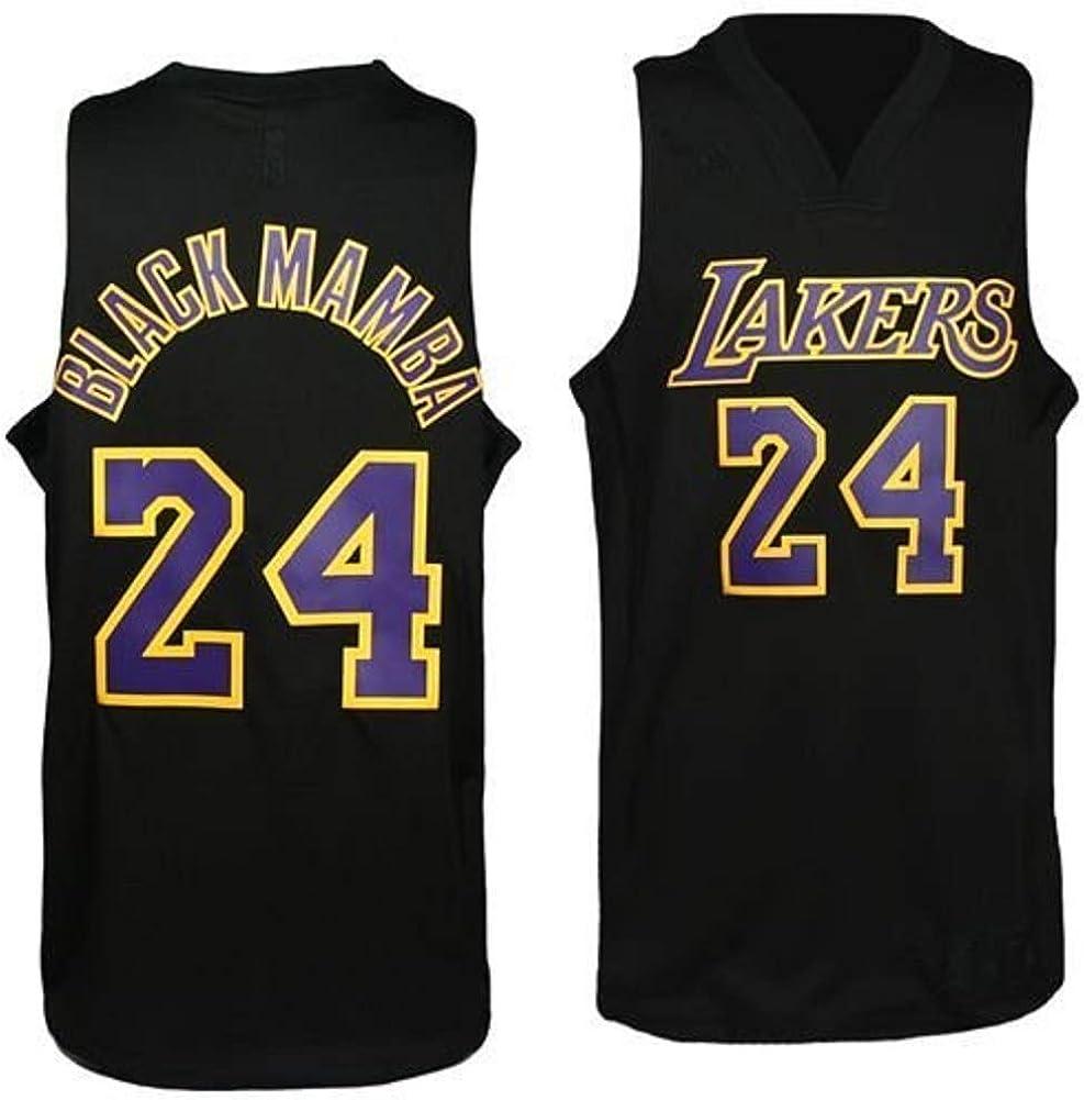 NBA Los Angeles Lakers Kobe Bryant Black Swingman Jersey