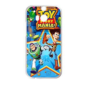 SHEP Toy stort mania Case Cover For HTC M8 Case