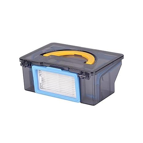 ILIFE Repuestos de caja de basura V3s V3s Pro V5s Pro Robot Aspirador