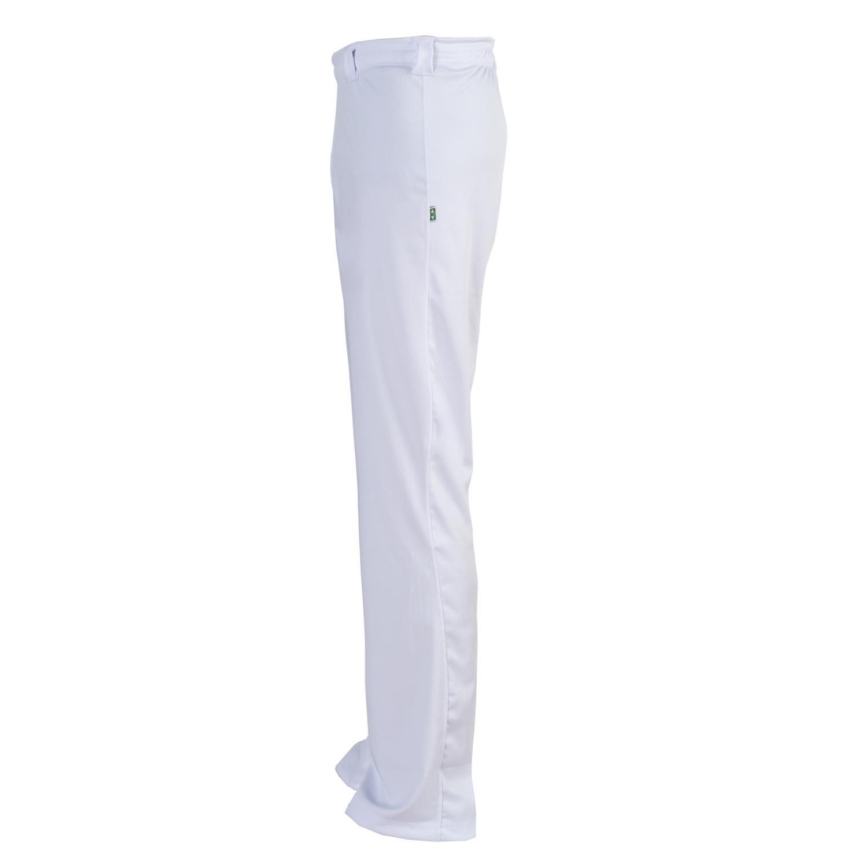 Unisex Authentic Brazilian Capoeira Martial Arts Pants White