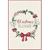 Christmas Planner: A5 Holiday Organiser - Plan Cards, Gifts, Budget, Meals, Shopping Lists - Store Recipes, Lists, Notes & Mu