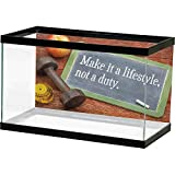 homecoco Fish Tank Poster Fitness,Make It a