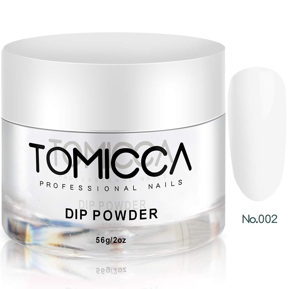 TOMICCA Dipping Powder for Nail Health Clear 2 oz, 56g / Jar Suit for All Dip Brand by TOMICCA