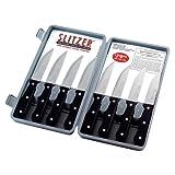 Slitzer BF Systems CTSZ8 8 Piece Professional German Style Jumbo Steak Knives
