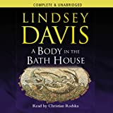 A Body in the Bath House by Lindsey Davis front cover