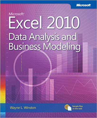 Microsoft Excel 2010 Data Analysis And Business Modeling (Business