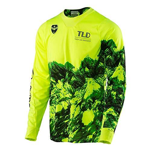 Troy Lee Designs SE Gravity Men's Off-Road Motorcycle Jerseys - Flo Yellow / 2X-Large ()