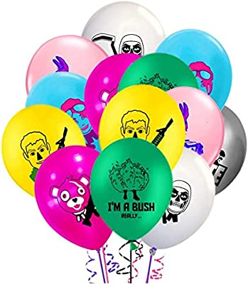 """Assorted Fortnite Similar Latex Balloons 12"""" size 8 PCS in a pack FREE DELIVERY"""