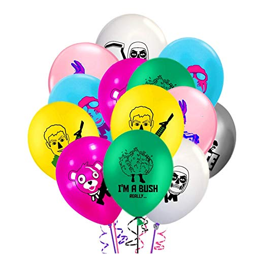"""Laurels  12/""""  Black /& Gold  Assorted Latex Balloons pack of 8 Welcome Home"""