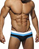 YOMISOY Mens One Piece Swimsuit Summer Sexy Triangle Briefs Bikini Swimwear Sport Underwear