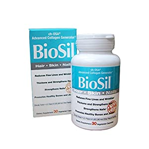 BioSil 30 Vegicapsules for healthy Hair, Skin and Nails