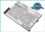 Power2tek BATTERY 3.7V For Amazon Kindle III, Kindle 3 Wi-fi, Kindle 3G, Kindle 3 +FREE Power Bank (2600mAh)