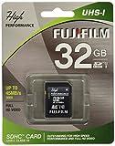 Fujifilm High Performance - Flash Memory Card - 32 GB - SDHC UHS-I, Black (600013603)